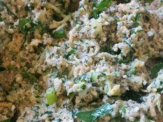 Κολοκυθοκεφτέδες νηστίσιμοι ή vegan!!! φωτογραφία βήματος 5 Vegan Foods, Fried Rice, Potato Salad, Fries, Food And Drink, Ethnic Recipes, Geo, Stir Fry Rice