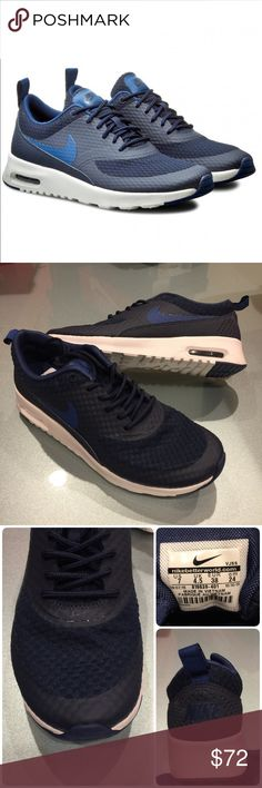 🌷New🌷 NIKE obsidian Air Max Thea ~ size 7 brand new no lid size 7 obsidian/coastal blue/summit white comes from smoke free home 100% authentic A1700037 Nike Shoes Athletic Shoes