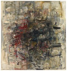 Joan Mitchel, Sans titre, 1954.  Collection of the Joan Mitchell Foundation, New York.    © Estate of Joan Mitchell.