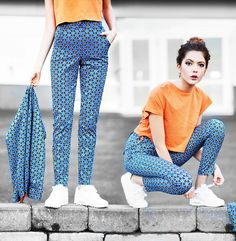 Ebba Z For Romwe Soft Croppen Tee, Ebba Z For Romwe High Waisted Pants, Ebba Z For Romwe Revercible Jacket, Nike Sneakers