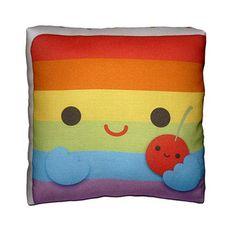 Mini Pillow - Yummy Rainbow Cake Slice
