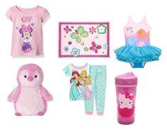 """Kiddo idool"" by racheldenisnefeke on Polyvore featuring Disney, Designers Guild and Hello Kitty"