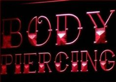 Body Piercing Tattoo Shop NEW Neon Light Sign - http://www.yourdreamtattoos.com/body-piercing-tattoo-shop-new-neon-light-sign/?utm_source=PN&utm_medium=http%3A%2F%2Fwww.pinterest.com%2Fpin%2F368450813235896433&utm_campaign=SNAP%2Bfrom%2BYour+Dream+Tattoo