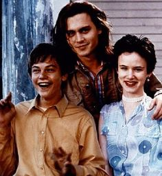 """Johnny in """"What's Eating Gilbert Grape"""" with Leonardo DiCaprio and Juliet Lewis"""