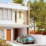Planos de Casa de 2 pisos y 3 Dormitorios bastante lujoso