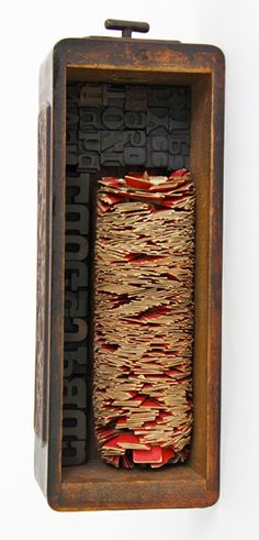 La Wilson, Is There A Way, 2004, mixed media, 14 x 5 x 4 inches