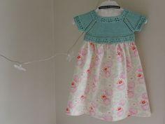 knit and sewn dress