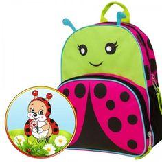 Backpack-Ladybug-Bag-Kids-School-Cute-Animal-Preschool-Bug-Toddler-Children
