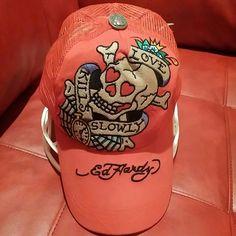 Ed Hardly Cap Ed Hardly Cap Ed Hardy Accessories Hats