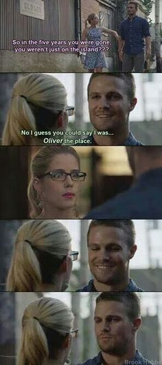 Wifey Felicity is not amused