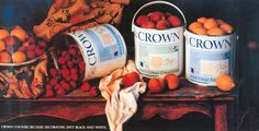 Read more: https://www.luerzersarchive.com/en/magazine/print-detail/crown-14248.html Crown Crown colours. Because decorating isn´t black and white. Tags: JWT (J. Walter Thompson), London,Harvey Flinder,Pete Myers,Crown,David Woodall