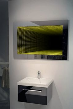 Bathroom Mirror Za b018 led infinity mirrors for hospitality | eclairage | pinterest