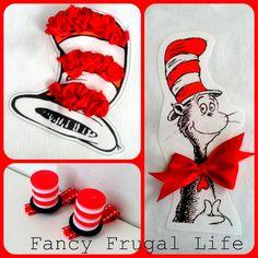 Tissue paper Dr. Seuss hat