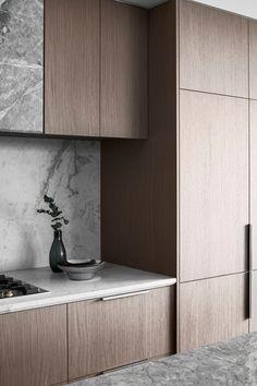 Australian Interior Design, Interior Design Awards, Stone Kitchen, Luxury Kitchen Design, Workplace Design, Hospitality Design, Commercial Design, Kitchen Interior, Apartment Kitchen
