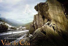 Gravuras rupestres, Foz Côa, Douro Superior , Portugal Art Pariétal, Douro Portugal, Sea Activities, Western World, Sunny Beach, Atlantic Ocean, Rock Art, Maps, Surfing