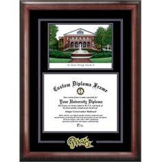 ECU East Carolina University Pirates Alumni Mahogany Diploma Frame