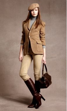 Equestrian Essentials    This season's riding-inspired accents have polish and pedigree