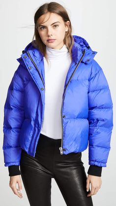 1a6f2b328a79a Blue Cropped Puffer Jacket | New Look | F - DHK in 2019 | Blue ...