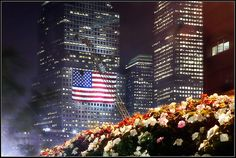 America Beautiful / American Flag at Ground Zero (9/11) - Photo taken September 11, 2007