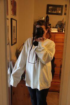Sew Unique in CO: Gigantic Sweatshirt Refashion Tutorial!