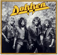 Dokken - Dream Warriors (Don Dokken,George Lynch,Jeff Pilson,Mick Beast from the east. Hair Metal Bands, 80s Hair Bands, Metal Hair, Hard Rock, Mr Big, Bruce Dickinson, Glam Metal, Power Metal, Rock & Pop