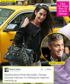 Amal Alamuddin: Fans Thrilled Power Lawyer Is Marrying George Clooney - celebrity couples news