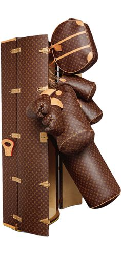 LOOKandLOVEwithLOLO~ Louis Vuitton Icon and Iconoclasts Collection. Punching Trunk Karl Lagerfeld
