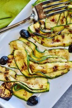 This 3 Ingredient Grilled Zucchini is an easy, delicious summertime favorite. It's super easy to make and only takes 5 minutes to cook on the grill. Zuchinni Chips, Easy Vegetable Dishes, Aged Balsamic Vinegar, Grilled Zucchini, Summer Dishes, Cooking On The Grill, 3 Ingredients, Summertime, Grilling