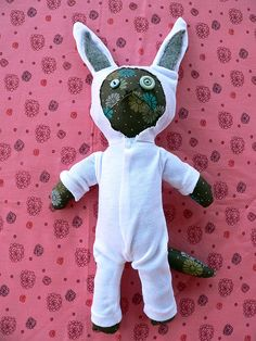 chumi as a rabbit