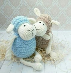 This is an Amigurumi Sheep Toy Free Crochet Pattern. These sweet amigurumi sheep are created in the blink of an eye! The amigurumi pattern is super easy and fun to make. Perfect gift for children. Crochet Sheep, Easter Crochet, Crochet Animals, Crochet Crafts, Crochet Baby, Crochet Projects, Free Crochet, Crochet Hooks, Crochet Motifs