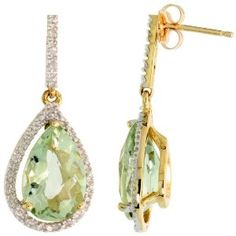 I like this company Gabriella Gold, I discovered on Amazon. I will definitely look for more earrings from them. Beautiful earrings for a special occasion that will complete your look. Understated elegance. Fine quality. The design is just perfect.