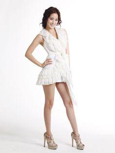Kim Tae Hee, Korean Model, White Dress, Actresses, Celebrities, Sexy, Image, Beauty, Models