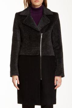 Two Tone Coat by Trina Turk on @HauteLook