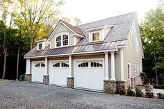 Pole Buildings as Living Quarters | The Kennsington Carriage House by Yankee Barn Homes, Shane Godfrey ...