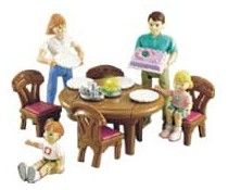 Fisher Price Loving Family Dollhouse dining room