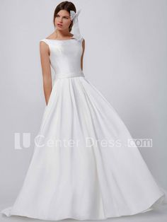 $130.59-Eelgant A Line Long Scoop-Neck Sleeveless Satin Wedding Dress. http://www.ucenterdress.com/a-line-long-scoop-neck-sleeveless-satin-wedding-dress-pMK_100147.html. Shop for Best wedding dresses, Lace wedding dress, modest wedding dress, strapless wedding dress, backless wedding dress, wedding dress with sleeves, mermaid wedding dress, plus size wedding dress, We have great 2016 fall Wedding Dresses on sale. Buy Wedding Dresses online at UCenterDress.com today!#Wedding #Dress
