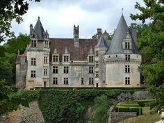 Le château de Puyguilhem (Dordogne)