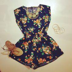 I don't know how short this would be but from what I can tell this romper looks pretty cute