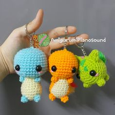 Crochet Patterns Pokemon Characters : 1000+ images about Crocheted Pokemon characters on Pinterest Pokemon ...