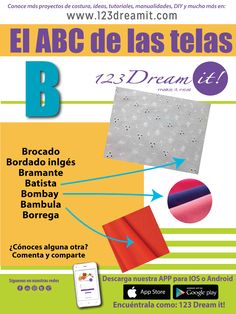 123 Dream it! Sewing Tools, Sewing Hacks, Textile Fabrics, How To Make Clothes, Learn To Sew, Sewing Patterns, Learning, Tips, Ideas