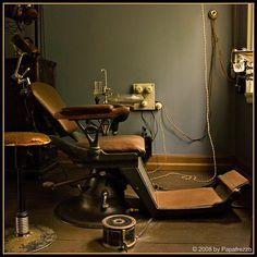 Dental Practice circa 1920.