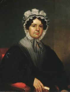 """Mrs. Gideon Tucker"" by William Sidney Mount (1830) at the Metropolitan Museum of Art, New York"
