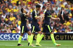 Alexis scores to make it 2-0 to the Arsenal!! #Arsenal #COYG #AFC