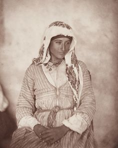 A Cyprian Maid,' from John Thomson's Through Cyprus with a Camera in the Autumn of 1878 (St Andrews copy at Photo Dr Luke, North Cyprus, Ancient Artifacts, Old Photos, New Art, The Past, Culture, Statue, Artwork