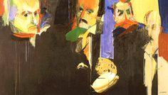 """A Busca da Sabedoria: Baudelaire, Edgar Poe, Mallarmé e Fernando Pessoa - Júlio Pomar. """""""