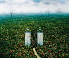 """""""Strawberry Fields (2)"""" de Jacek Yerka"""