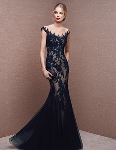 Kleid im Meerjungfrau-Stil aus Spitze
