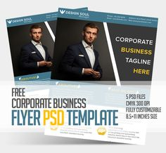 Free Corporate Business Flyer PSD Template #flyerdesign #freepsdfiles #flyertemplate #posterdesign #freebie