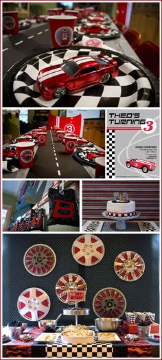 1000 images about theme fast furious party on pinterest race car birthday race car party. Black Bedroom Furniture Sets. Home Design Ideas