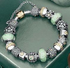 pandora.. I have three bracelets of Pandora & love them dearly. They are virtually indestructible...